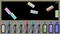 Number Capsules..Free online game for  EYFS/KS1