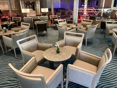 Silversea Silver Muse Panorama Lounge Silversea Cruises, Outdoor Furniture Sets, Outdoor Decor, Muse, Lounge, Travel, Airport Lounge, Drawing Rooms, Viajes