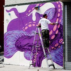• ARTIST . TRISTAN EATON • ◦ Octopus ◦ location: New York, Usa