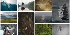 手工木雕字體,哥倫比亞旅遊識別 | MyDesy 淘靈感