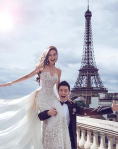 This Couple's Wedding Was More Expensive Than Kim and Kanye's via Brit + Co