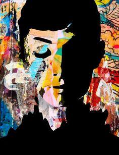 Original Celebrity Photography by Paslier Morgan Original Paintings, Original Art, Audrey Hepburn, Medium Art, Urban Art, Illustration Art, Illustrations, Artwork Online, Saatchi Art