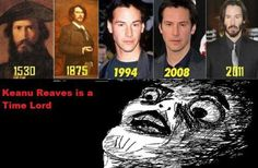 Nah. If he were a Time Lord he would have regenerated by now.