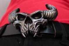 DANZIG demon skull belt buckle - Mark II by ChristopherGenovese on Etsy https://www.etsy.com/listing/65196638/danzig-demon-skull-belt-buckle-mark-ii