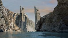 Gate of Argonath - Lord of the Rings wallpaper