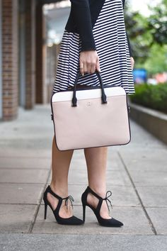 Update your office style with a new laptop bag for spring/summer!