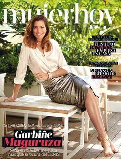 Garbiñe Muguruza, como nunca la habías visto, en portada de Mujerhoy