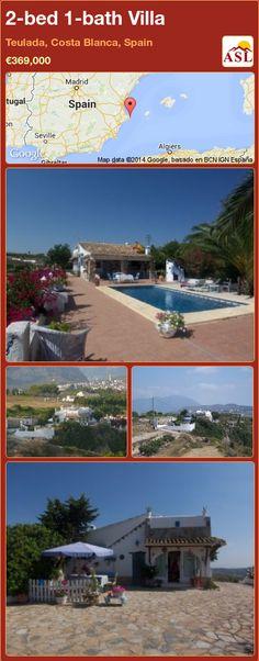2-bed 1-bath Villa in Teulada, Costa Blanca, Spain ►€369,000 #PropertyForSaleInSpain