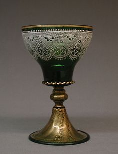 Goblet  --  19th Century  --  Italian  --  Murano  --  Metropolitan Museum of Art