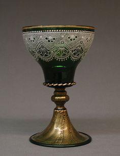 Goblet 19th Century -- Italian -- Murano -- Metropolitan Museum of Art