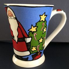 Ursula's Christmas Coffee Mug Cup - Santa Clause Christmas Holiday Ursula Dodge