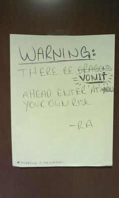 The one who always gives fair warning. | Community Post: 17 RAs You Wish You Had In College
