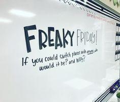 #freakyfriday #friyay #miss5thswhiteboard #iteachtoo #iteachfourth #teachersofinstagram