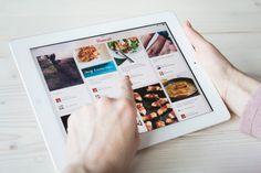 pinterest trends  app social tablet