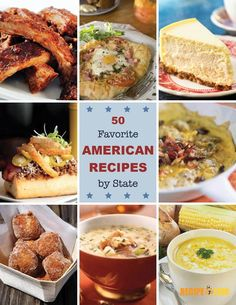 50 Favorite American Recipes By State Free ECookbook
