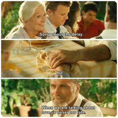 Letters to Juliet.