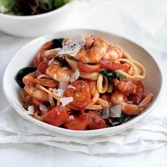 Prawns arrabiata | Australian Healthy Food Guide