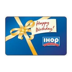 IHOP Gift Card Collection, (pancakes, food, gift card)