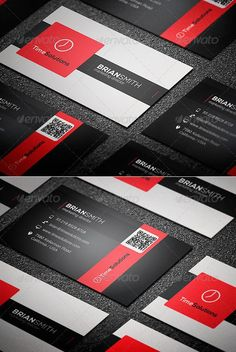 Clean Business Card Template #design Download: http://graphicriver.net/item/clean-business-card/8782467?ref=ksioks