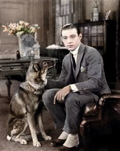 1920s Hollywood - The legendary Rudolph Valentino, loving the spats. I love this whole era, so fab.