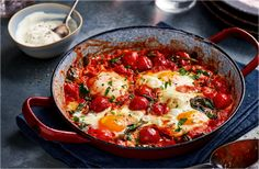'Frankie' loves chilling at home with a big bowl of baked eggs after a night out. Find more late night breakfasts and Food Love Stories at Tesco Real Food.