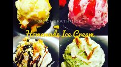Homemade Ice Cream With Only 2 Ingredients (No Machine)   4 Flavours Ice...