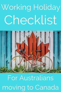 Working Holiday Checklist for Australians moving to Canada / Working holiday resources and advice from someone who has done multiple working holidays around the world / Working Holiday Tips / Working Holiday Canada / Working holiday Australia / Working H Backpacking Canada, Canada Travel, Hiking Europe, Alberta Canada, Travel Advice, Travel Tips, Travel Guides, Travel Stuff, Holiday Checklist