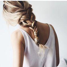 twisted braid #hair #hairstyle #braids