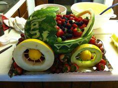 Watermelon Baby Carriage w/ different wheels! Mom! @JimnNancy Vestal
