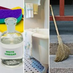 When it comes to white vinegar uses, the list is seemingly endless. Check out these clever ways to use white vinegar from cleaning to personal care and more. Homemade Cleaning Products, Household Cleaning Tips, Deep Cleaning Tips, House Cleaning Tips, Cleaning Hacks, Oven Cleaning, Cleaning Checklist, Cleaning Solutions, Vinegar In Laundry