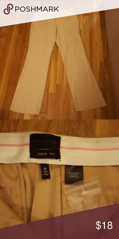 The Limited Drew fit beige pants size 10 New never worn, straight cut The Limited Pants Straight Leg