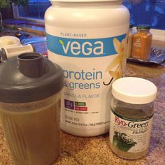 #proteinshake #fast today.  This is my third shake today.  Best tasting plant based protein powder I've found #costco 110 calories 5 carbs and 20 grams of #protein for one scoop.  Just added some powdered greens and #stevia Hope to be down at least a pound or two by tomorrow #keto #lowcarb #weightloss by lchfjujubee5