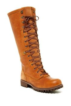 Image of Timberland Wheelwright Tall Lace-Up Boot