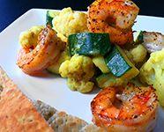 Groene curry met bloemkool