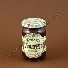 Moutarde violette de Brive, la recette originale de la moutarde au moût de raisin, spécialité de la Maison Denoix à Brive la Gaillarde #moutarde