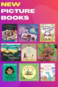 Check out our favorite picture books of the month! These excellent read alouds will be enjoyed by kids of all ages. Check out more book recs by clicking the link below! Early Elementary Resources, Library Skills, Preschool Books, Bad Wolf, Picture Books, Read Aloud, New Pictures, Literacy, Reading