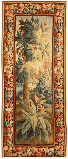 Antique Aubusson French Carpet #43638   http://nazmiyalantiquerugs.com/antique-rugs/aubusson/