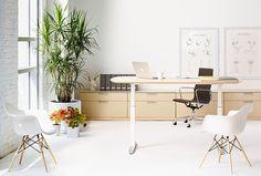 Renew - Conference Table   #HermanMiller #OfficeDesign  www.benharoffice.com/ #office #interiordesign #furniture