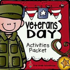 Veteran's Day - A Teeny Tiny Teacher