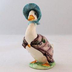 Vintage Beswick Beatrix Potter Jemima Puddleduck Figurine BP-3b Mark