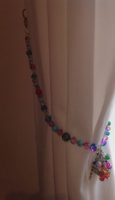 Gorgeous curtain tie backs by Beady Zedini