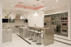 White Modern Kitchen | Ambient light only. | Quardt | Flickr