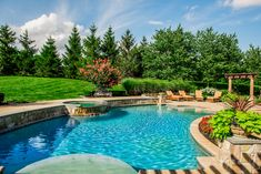 Spring is the perfect time to enjoy your Anthony & Sylvan pool landscaping!