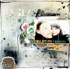 Studio Calico April layout by Celine Navarro