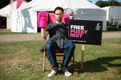 Darren Foreman, also known as the beatboxer #Beardyman showing his support for #FreePussyRiot along with a hundred other musicians.  Join them  and sign our new petition: www.amnesty.org/freepussyriot.