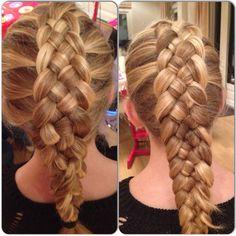 5 strands braid