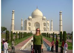 Sarah lived in India for four months and worked for an AIDS outreach hospital through AIESEC. Taj Mahal, India, City, Travel, Goa India, Viajes, Cities, Trips, Tourism