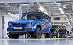 Выпущен 300-тысячный Mercedes-Benz G-Class