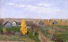 File:Isaac Levitan - Golden autumn. Slobodka - Google Art Project.jpg
