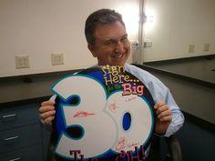 Jeff Morrow celebrates #30yearsofTWC